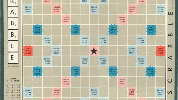 Scrabble word finder with blank